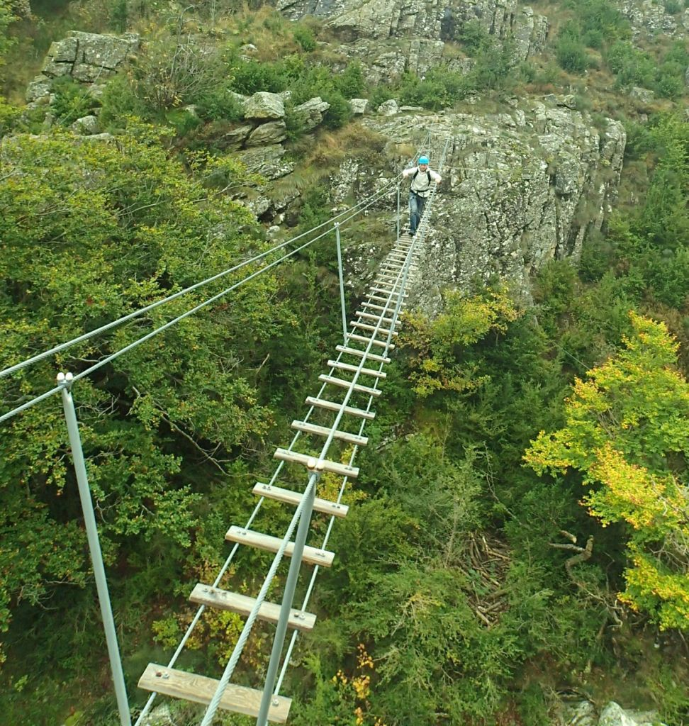 via ferrata de Rousses